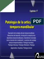 Capitulo 17.- Patologia de La ATM