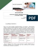 La Politique Monétaire-A. KADOURI-2