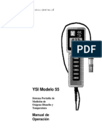 055207 YSI Model 55 Spanish Operations Manual RevA[1]