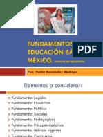 Fundamentos Educacion Basica Mexico