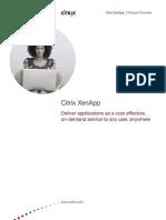 Citrix XenApp Overview Brochure