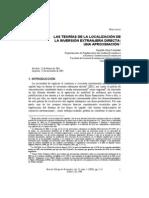 Teorias localización inversión extranjera directa