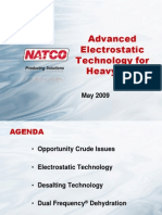 Natco study on new technology in desalters