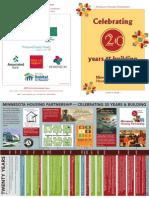 Minnesota Housing Partnership 20th Program Cover