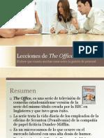 Gestión de Personal - Lecciones de Serie The Office
