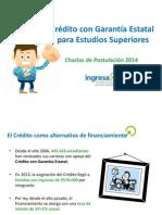 CharlasPostulación 2014
