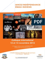 colloque Les Cinemas Indiens