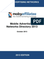 Mobile Advertising Networks Directory 2013
