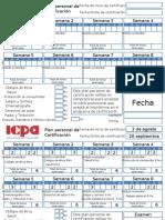 Formato de Plan de Certificación ICPA
