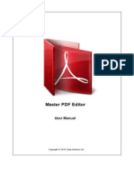 PDFEditor Manual