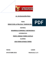 Analisis de La Pelicula Diarios de La Calle