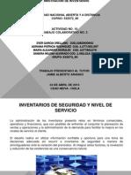 Inventarios de Seguridad y Nivel de Servicio. Sandra Alvarado