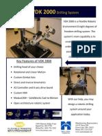 VDK2000 Portable Robotic Drilling Arm