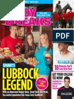 Study Breaks Magazine, October 2013- LUB