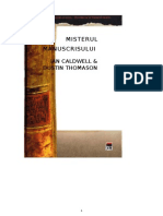 Ian Caldwell Dustin Thomason - Misterul Manuscrisului
