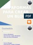 Wordpress vs Bloggerv