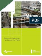 MSheet Manual