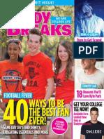 Study Breaks Magazine, October 2013- SA