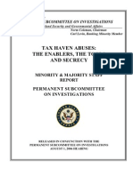 Senate Subcommittee Report