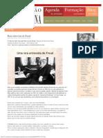 Rara entrevista de Freud _ Formação Freudiana