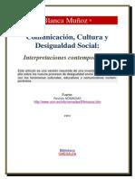 Comunicacion Cultura y Desigualdad Social