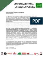Carta Al Presidente Del Gobierno de La Plataforma Estatal Por La Escuela Publica 13-10-11 (1)