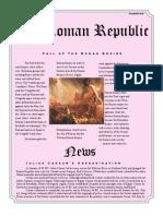 the roman republic by jessica dennis