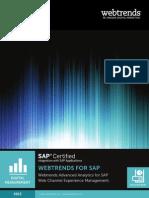 SolutionBrief-Webtrends WCEM @ SAP