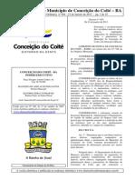 DIÁRIO OFICIAL DE C COITÉ 21 DE JANEIRO