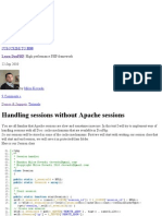 Handling sessions without Apache sessions « Learn DooPHP