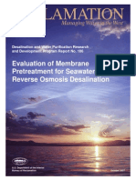 Evaluation of membrane