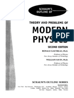 51529866 Schaum s Outline of Modern Physics