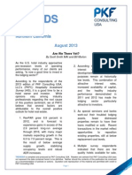 August 2013 NoCA Trends in the Hotel Industry