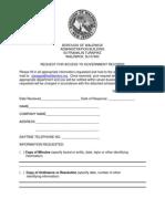 Waldwick OPRA Request Form
