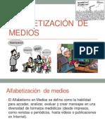 ALFABETIZACIÓN  DE MEDIOS