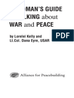 A Woman's Guide to Talking About War and Peace