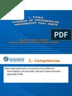 Sema7 Hemorragia Post Parto II.