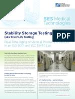 SES - Stability Storage Testing