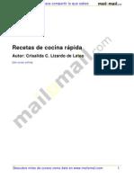 Recetas Cocina Rapida 25502