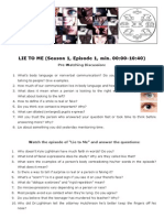 lie-to-me english worksheet