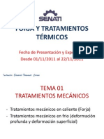 FORJA Y TRATAMIENTOS TÉRMICOS