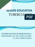 Sesion Educativa Tbc