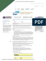 Cómo crear el programa impresor para la ejecución de un Smartform en SAP