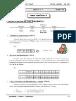 III BIM - QUIM - 1ER AÑO - GUIA Nº 6 - Tabla Periódica I