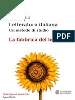Gino Tellini - Letteratura Italiana 01