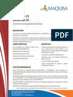 Dielectrol 35 Ficha Tecnica y HDS