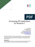 Developig VFP Applications for Windows 7