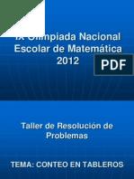 Taller ONEM 2012