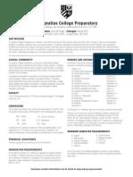 St. Ignatius College Prep SF School Profile