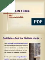 Escola de Teologia Int Sagrada Escritura 2 Pe Andres